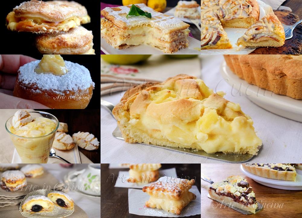 Dolci alla crema pasticcera ricette veloci e facili for Ricette dolci facili e veloci