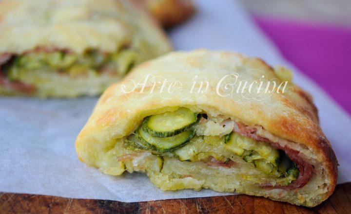Rotolini sfiziosi con zucchine e salame facili