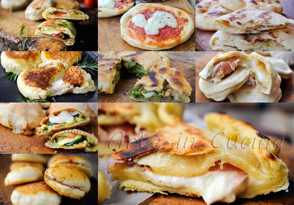 Focaccine pizzette e focacce in padella ricette veloci vickyart arte in cucina