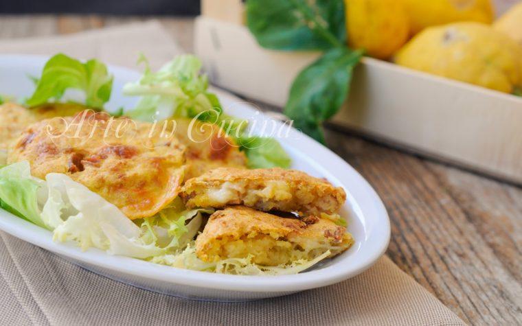 Frittelle di patate e tonno con provola