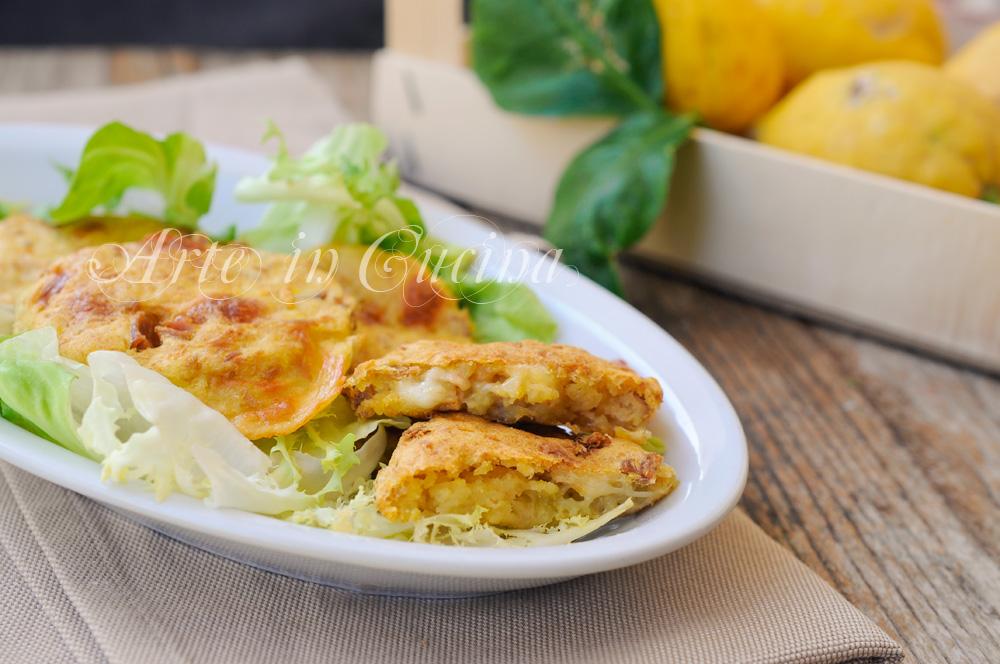 Frittelle di patate e tonno con provola vickyart arte in cucina