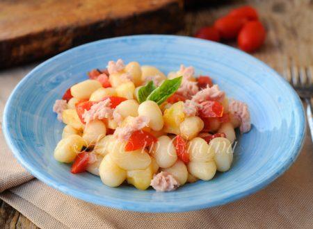 Gnocchi freddi all'insalata ricetta veloce