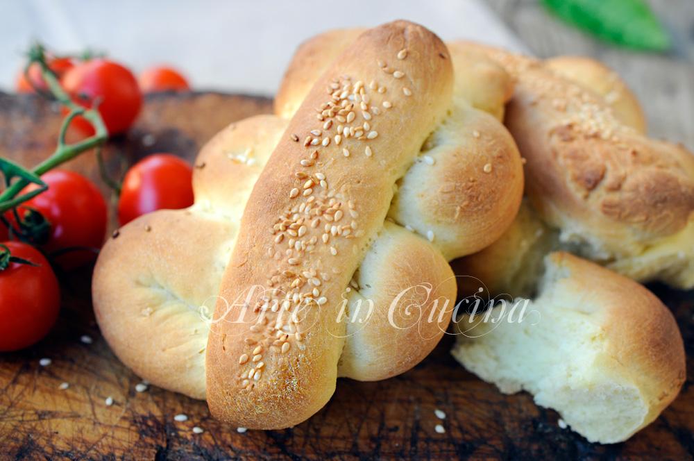 Mafaldine siciliane con semi di sesamo ricetta facile vickyart arte in cucina