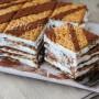 Mattonella con nutella e crema al latte dolce freddo vickyart arte in cucina