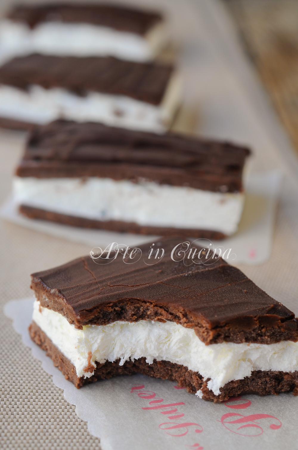 Mini cheesecake pinguino ricetta veloce fredda vickyart arte in cucina