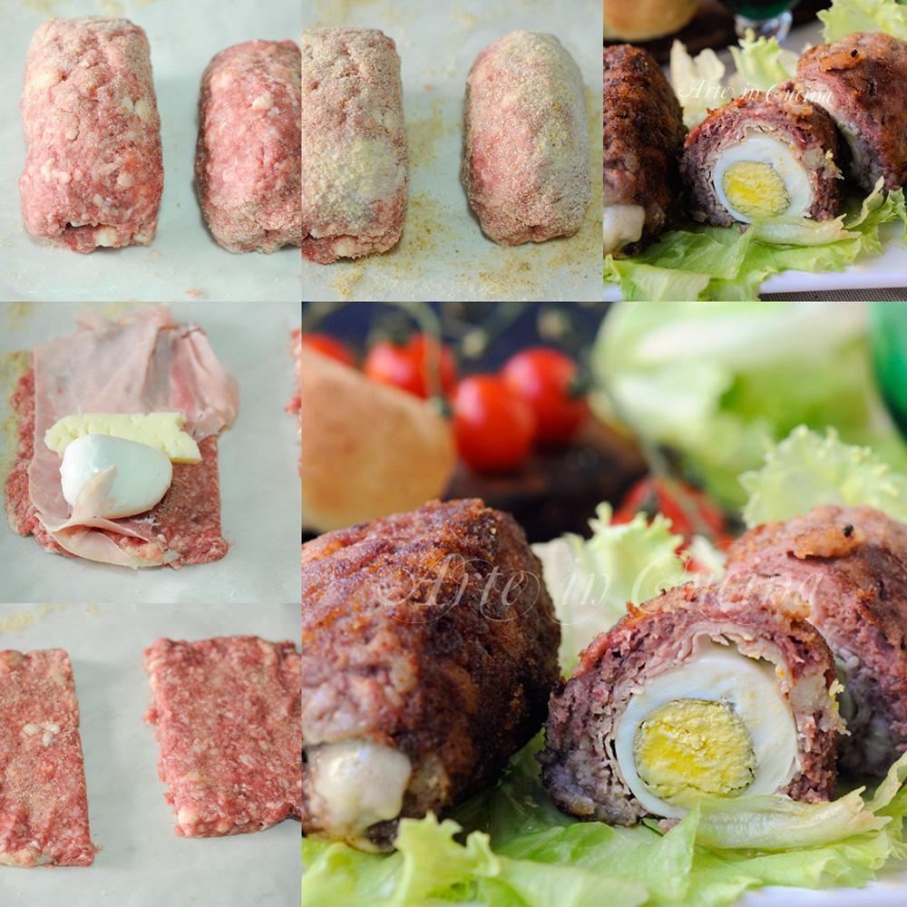 Mini polpettoni ripieni al forno o padella veloci vickyart arte in cucina
