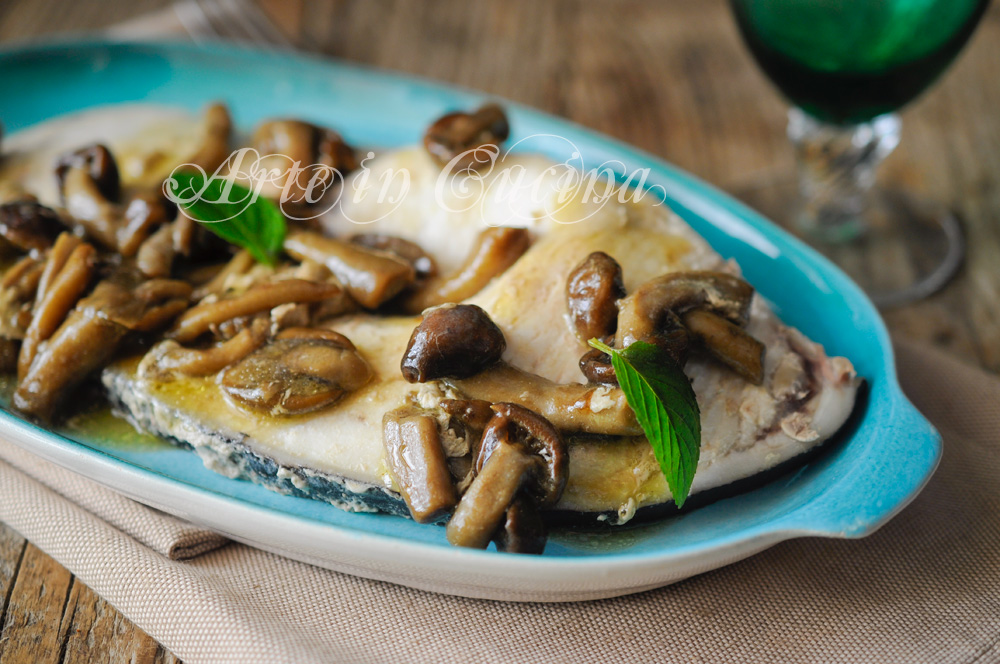 Ricette con funghi porcini freschi e pesce