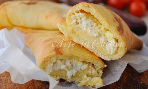 Scacce alla ricotta ricetta siciliana facile