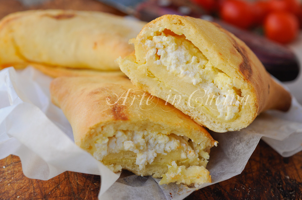 Scacce alla ricotta ricetta siciliana facile vickyart arte in cucina
