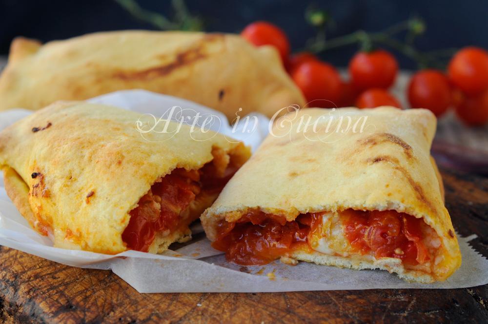 Scacce siciliane con mozzarella e pomodoro vickyart arte in cucina