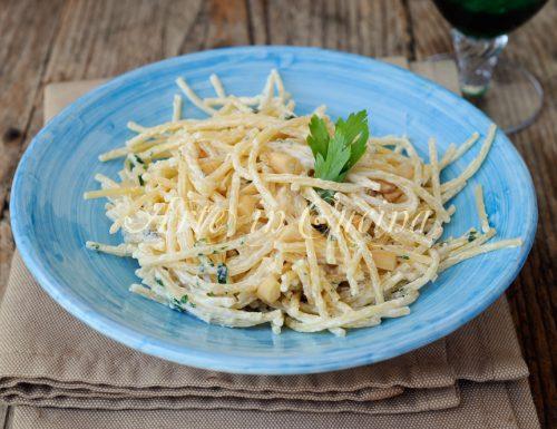 Spaghetti alla ricotta ricetta primo piatto veloce