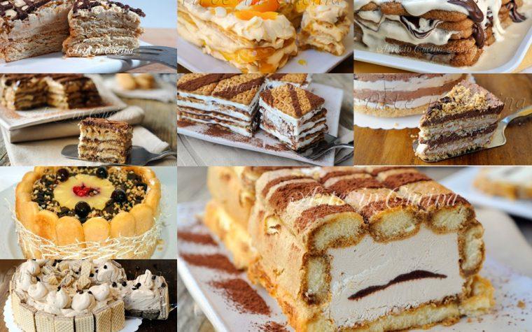 Torte con biscotti ricette veloci raccolta