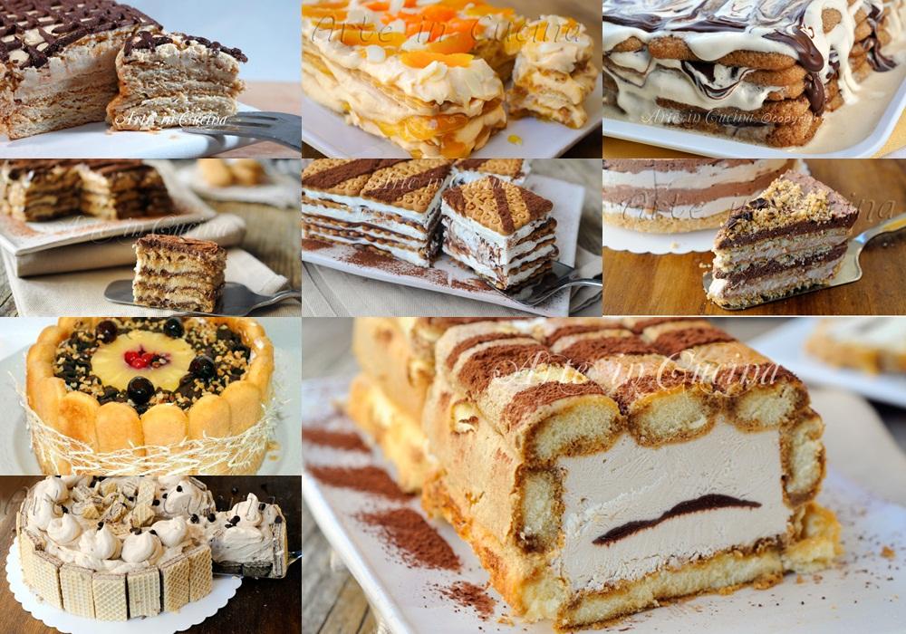 Torte con biscotti ricette veloci raccolta for Ricette dolci facili e veloci