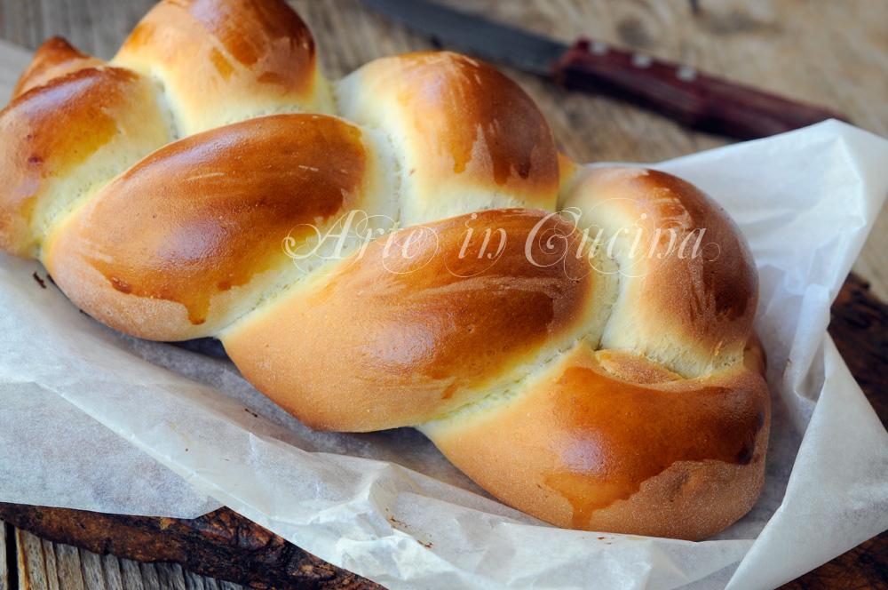 Treccia brioche dolce alla nutella soffice vickyart arte in cucina