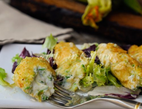 Crocchette di ricotta e zucchine senza uova
