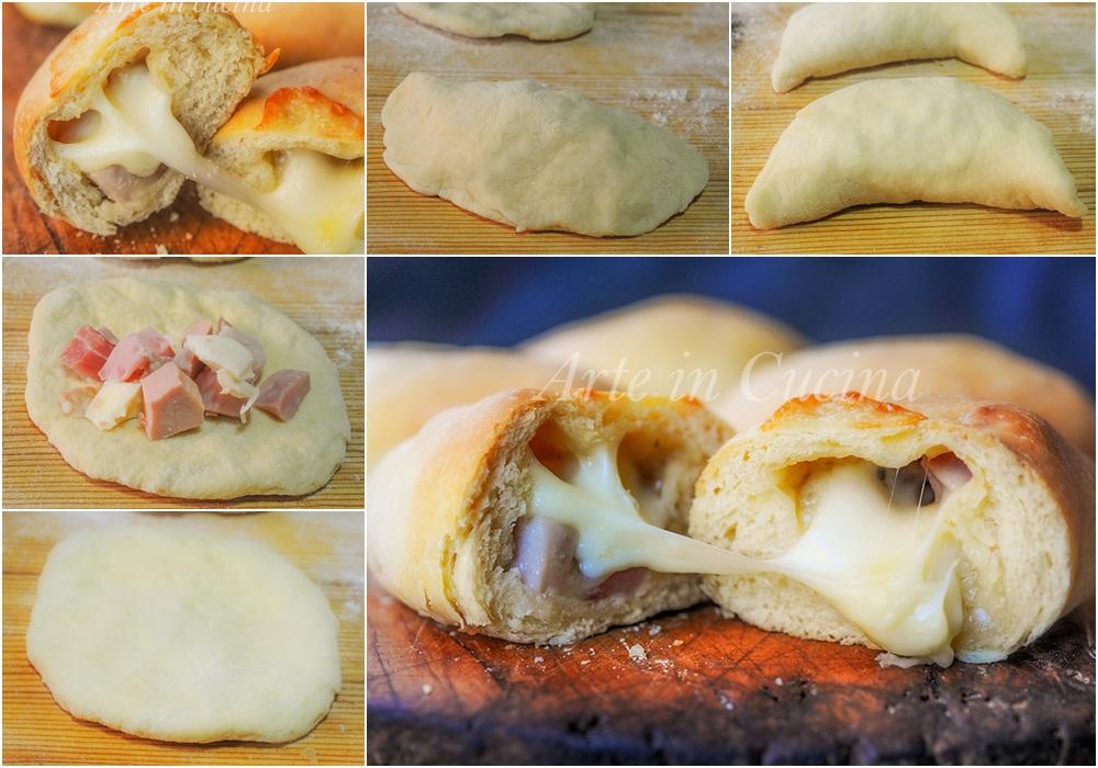 Mezzelune con salumi e formaggi soffici e veloci vickyart arte in cucina