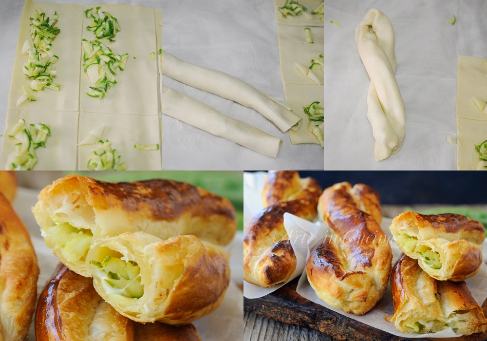 Nastrine salate ripiene con zucchine e scamorza vickyart arte in cucina