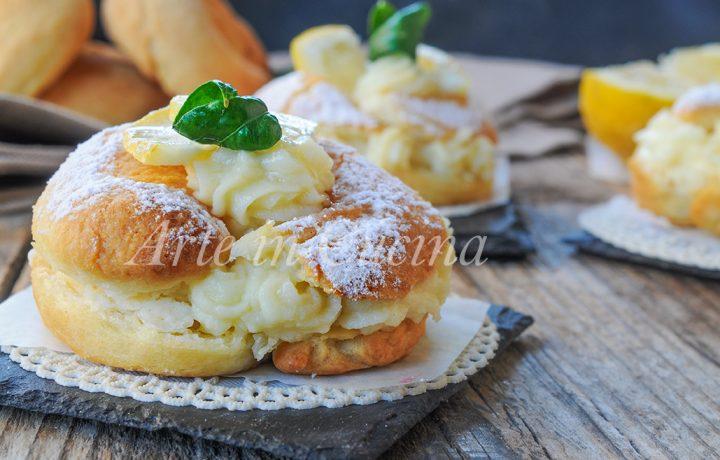 Savarin al limone ricetta dolce alla crema