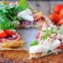 Pizza di sfoglia con prosciutto tonno e rucola vickyart arte in cucina
