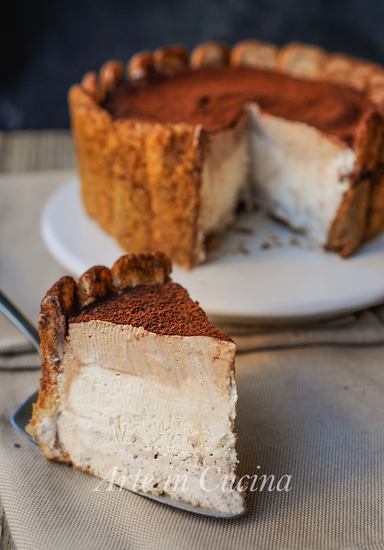 Torta con pavesini al caffè e cioccolato vickyart arte in cucina