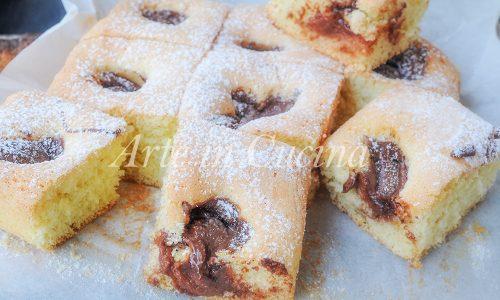 Tortine morbide alla nutella e ricotta facili e veloci
