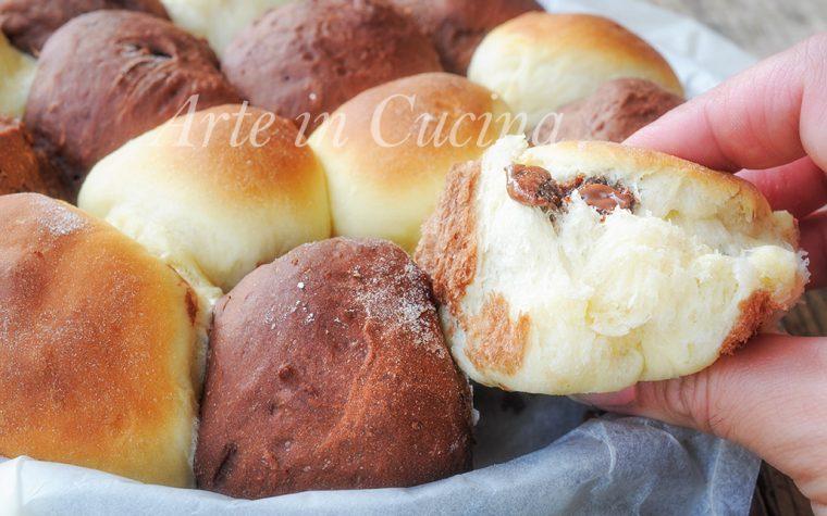 Danubio bicolore alla nutella ricetta facile