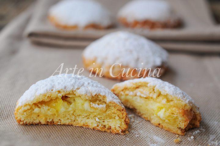Frolle alla ricotta ananas e crema ricetta facile vickyart arte in cucina