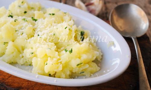 Patate mescè al latte ricetta romagnola veloce