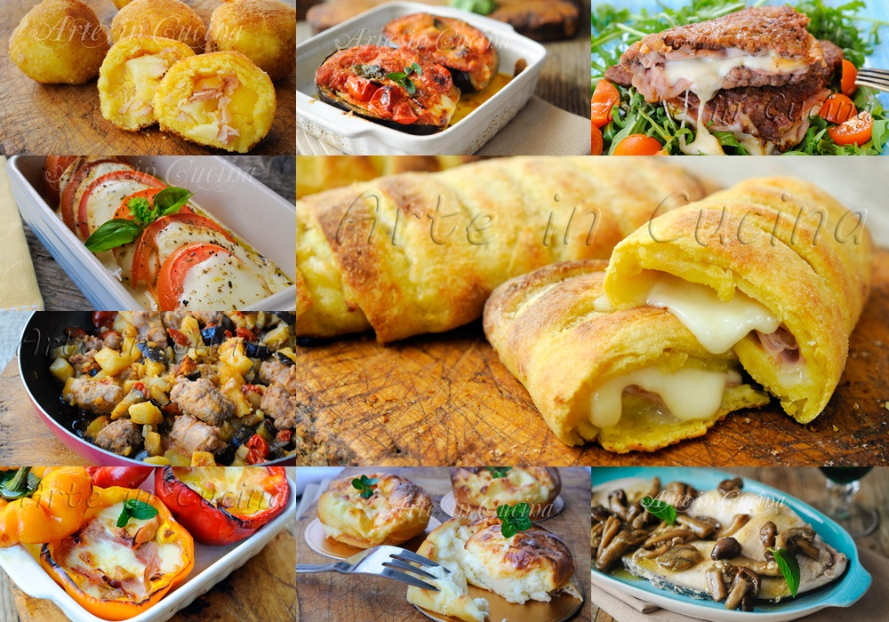 Secondi sfiziosi ricette facili per pranzo o cena vickyart arte in cucina