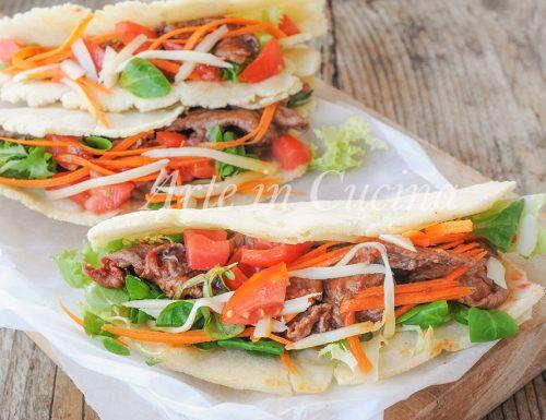 Tacos con carne ricetta messicana facile e veloce