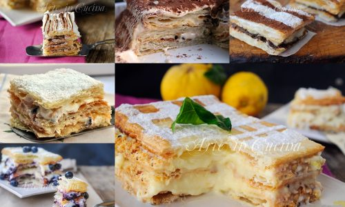 Torte millefoglie ricette dolci facili e veloci