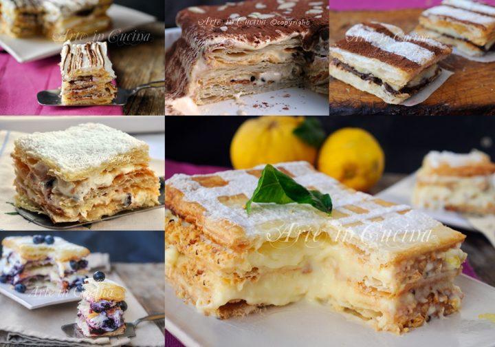 Torte millefoglie ricette dolci facili e veloci arte in for Ricette torte facili