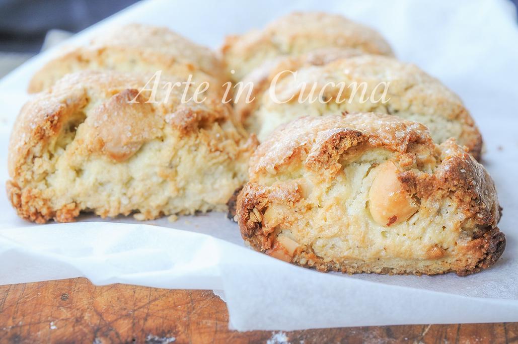 Tozzetti veloci alle mandorle biscotti facili vickyart arte in cucina