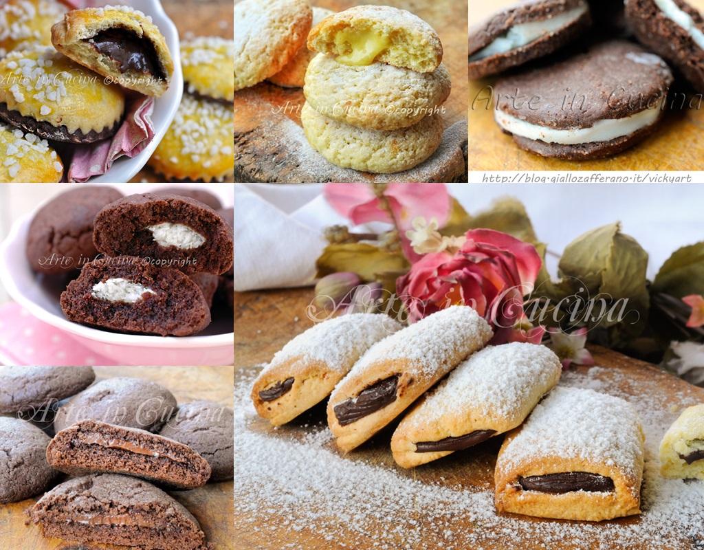 Biscotti ripieni per colazione ricette facili for Ricette facili dolci