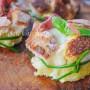Cestini di pane raffermo ripieni antipasto sfizioso vickyart arte in cucina