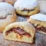Focaccine dolci alla ricotta con nutella in padella vickyart arte in cucina