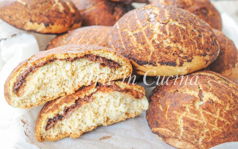 Gallette dolci morbide ripiene di nutella ricetta facile
