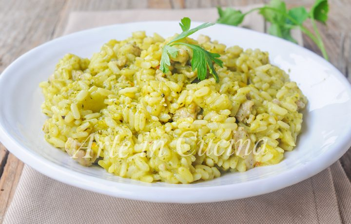 Risotto con broccoli e salsiccia cremoso ricetta facile