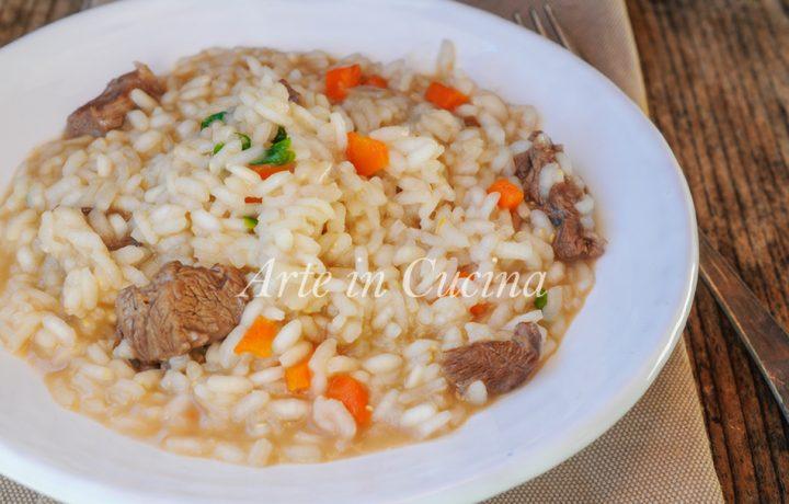 Risotto al marsala ricetta facile e veloce