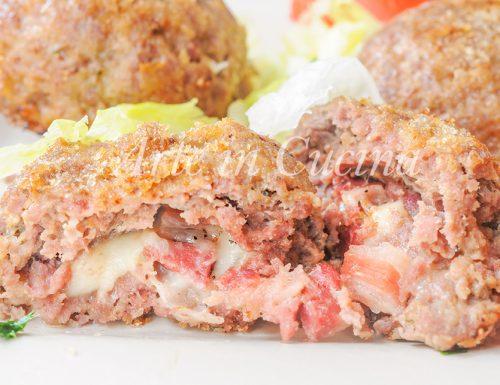 Sformatini di carne con provola e pancetta ricetta veloce