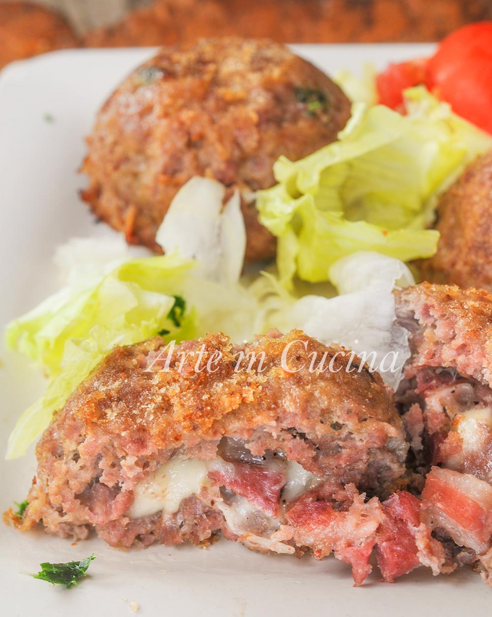 Sformatini di carne con provola e pancetta ricetta veloce vickyart arte in cucina