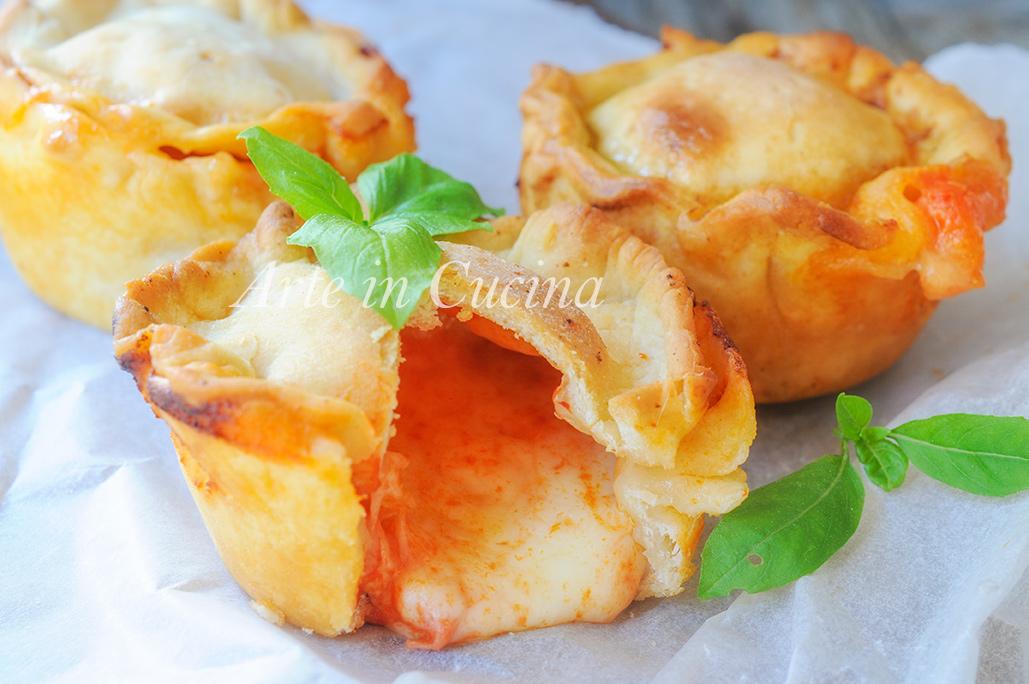 Sformatini veloci gusto pizza ricetta sfiziosa vickyart arte in cucina