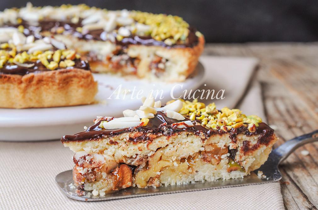 torta-natale-frutta-secca-cioccolato-veloce-1
