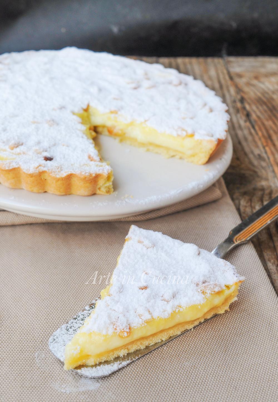Torta della nonna aperta dolce facile e veloce arte in for Cucina dolce