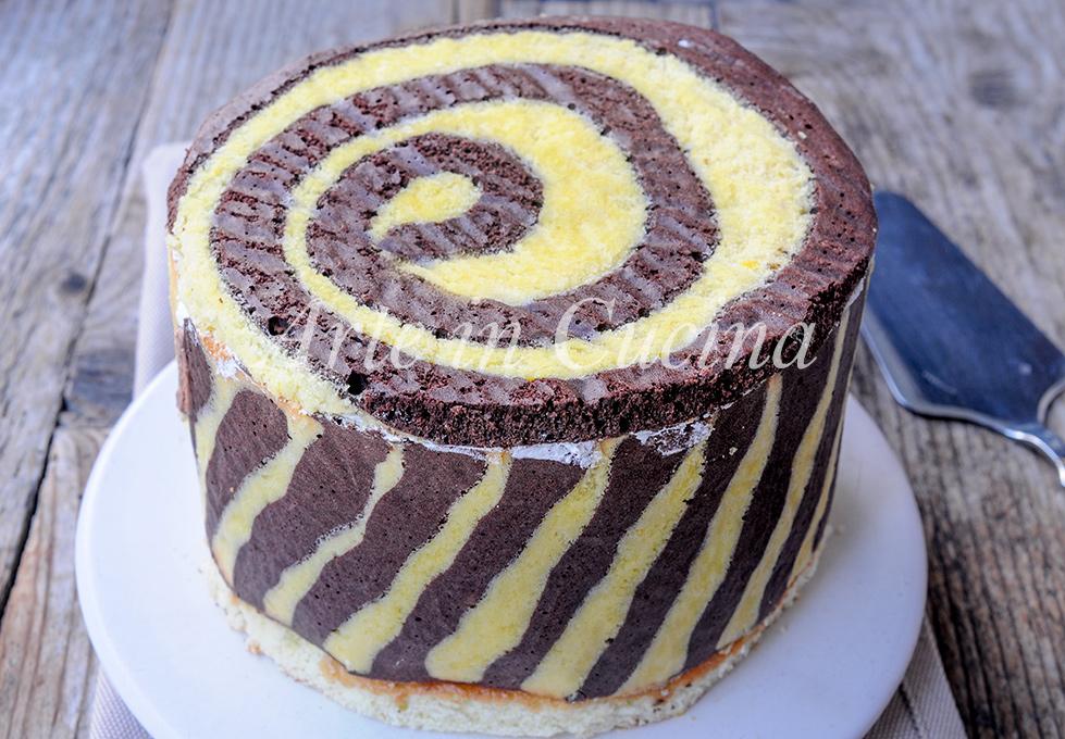 Torta twister al cioccolato e mascarpone vickyart arte in cucina