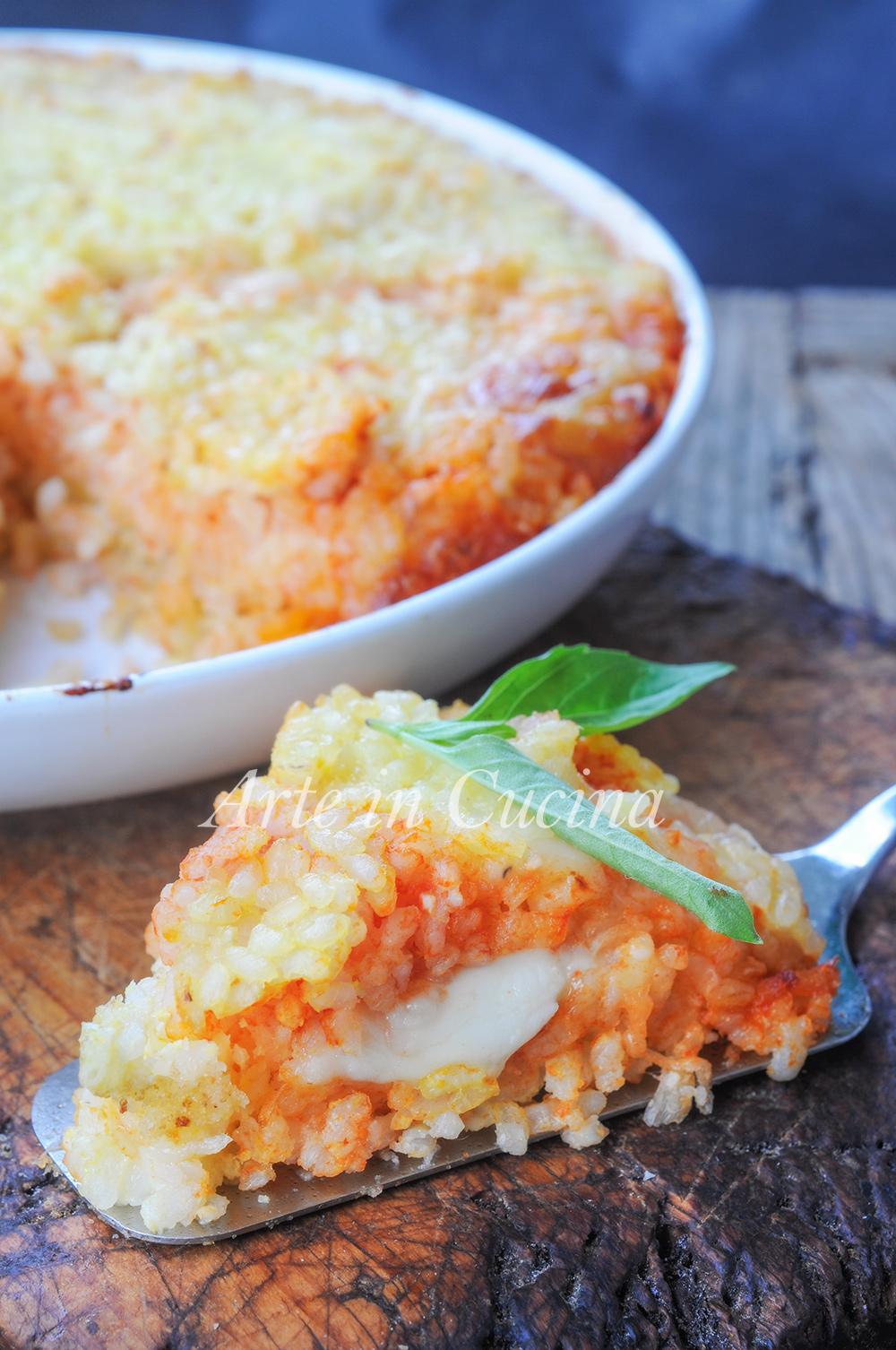 Tortino di riso napoletano ricetta facile vickyart arte in cucina