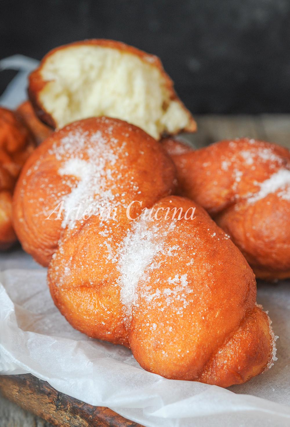 Treccine fritte alla ricotta dolci di carnevale vickyart arte in cucina