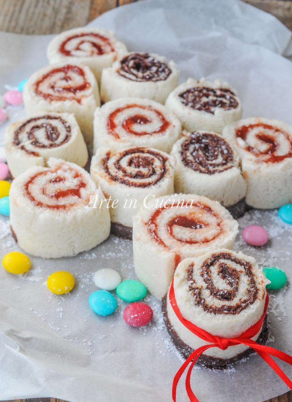 Albero di Natale di pancarre alla nutella o marmellata vickyart arte in cucina