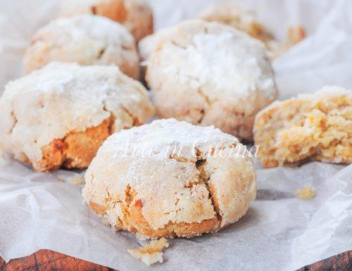Biscotti morbidi alle noci e arancia ricetta veloce