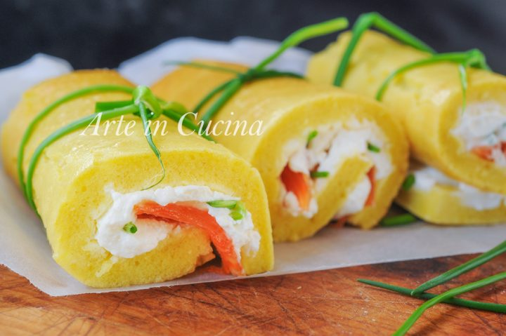Cannoli salati rotolini salmone e robiola veloci vickyart arte in cucina